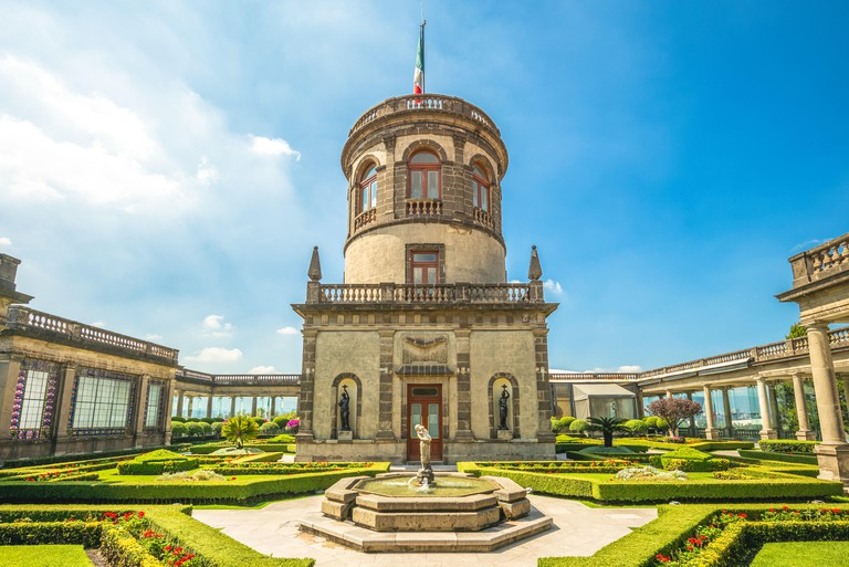National Museum of History, Chapultepec Castle in Mexico City