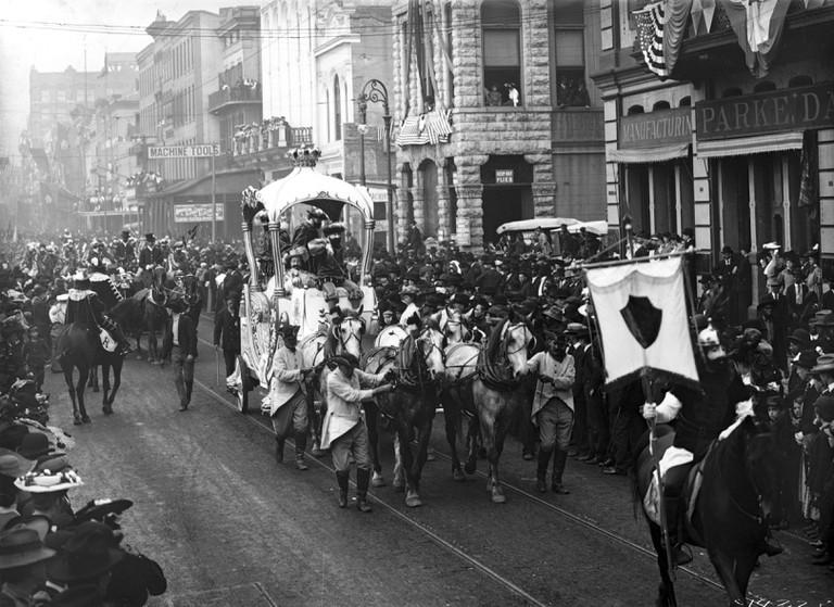 New Orleans: Mardi Gras.