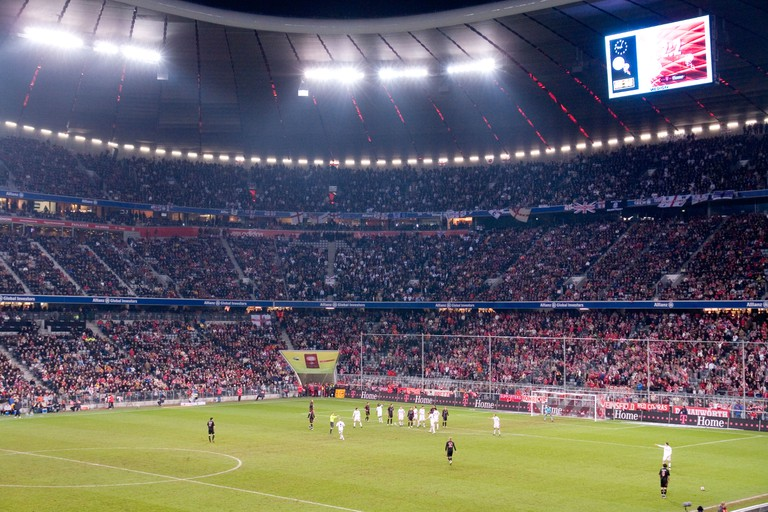 FC Bayern at Allianz Arena