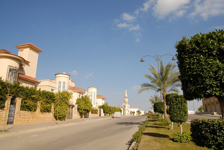 Beverly Hills Compound is one of the residential areas for people with money, located in 6th of October City, Cairo