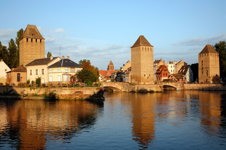 Ponts Couverts Petite France, Strasbourg, Alsace, France