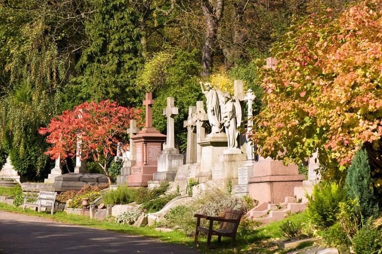 Highgate Cemetery Highgate N6 London United Kingdom