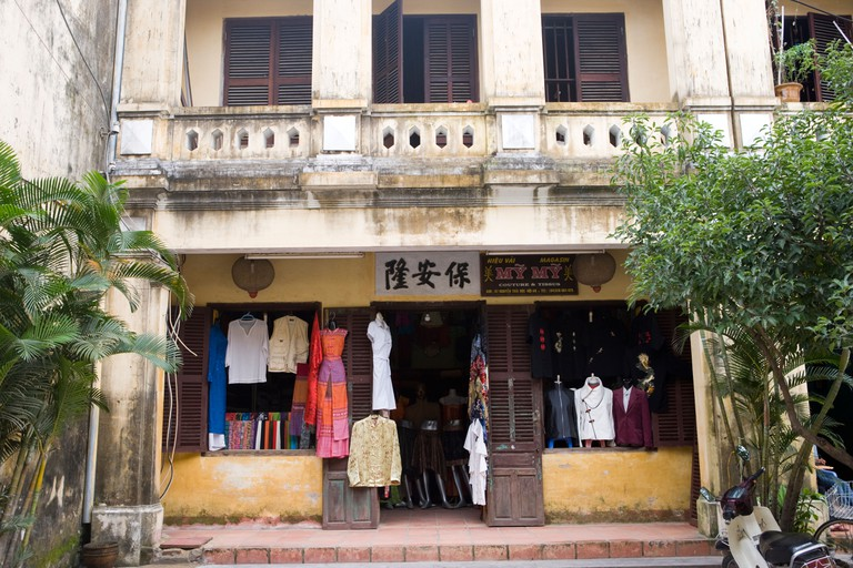 The town of Hoi An is famous for it s tailors shops