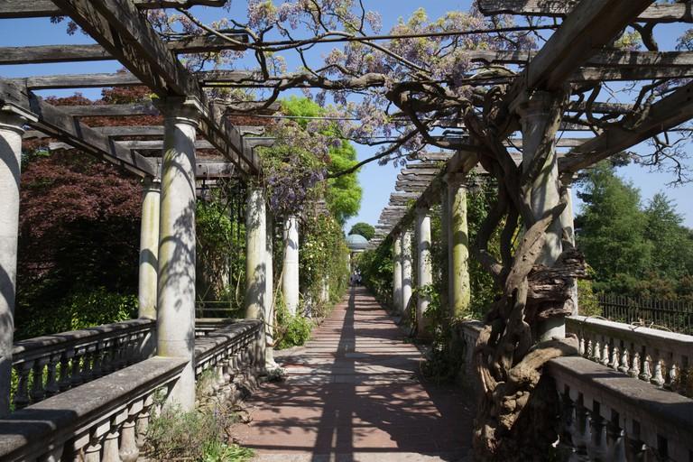 Pergola Garden in Hampstead Heath.