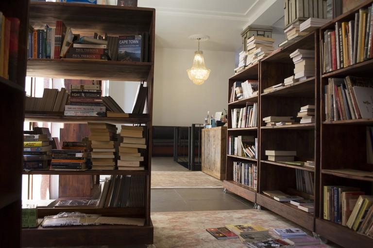 Interior of Bridge Books