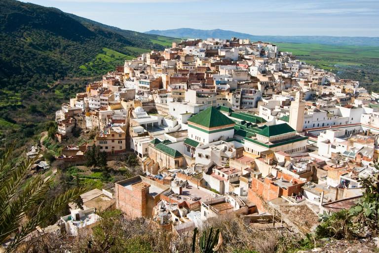 Village of Moulay Idriss Zerhoun