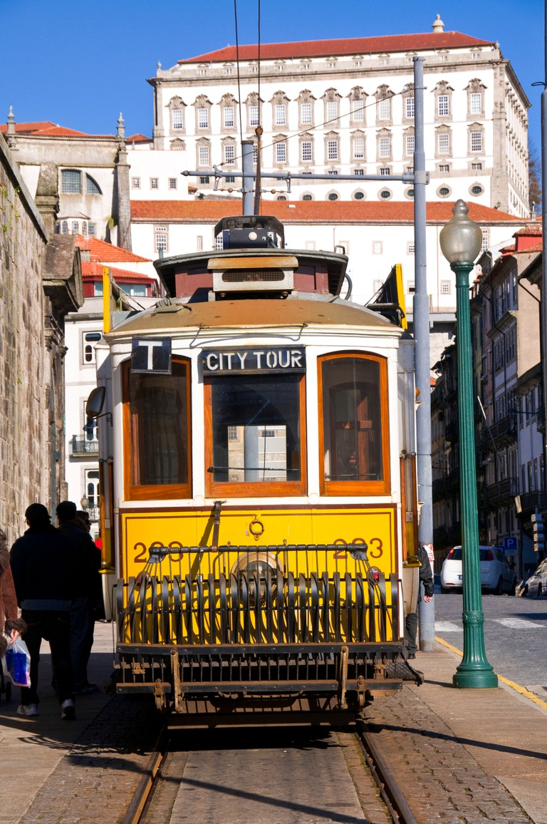 Tram, Porto, Portugal, Europe