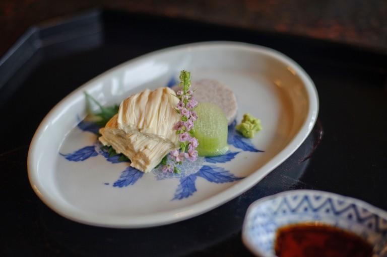Yuba sashimi