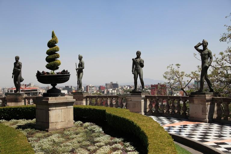 El Castillo de Chapultepec, Chapultepec Castle, Chapultepec Park, Chapultepec, Mexico City, Mexico
