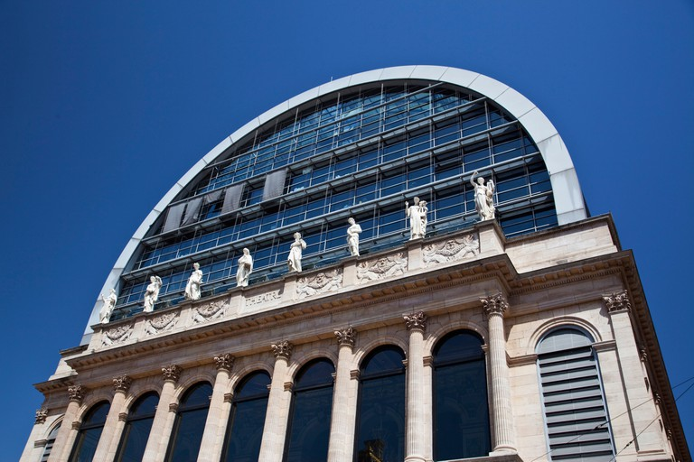 Opera of Lyon redesigned  by architect Jean Nouvel  1985 til 1993, Lyon, Rhone Alps, France