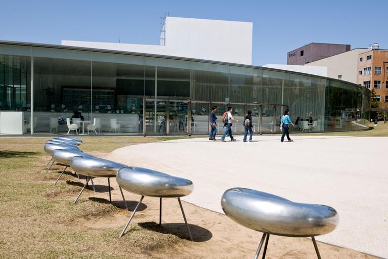Contemporary Art Museum of the 21st century, Kanazawa, Japan.
