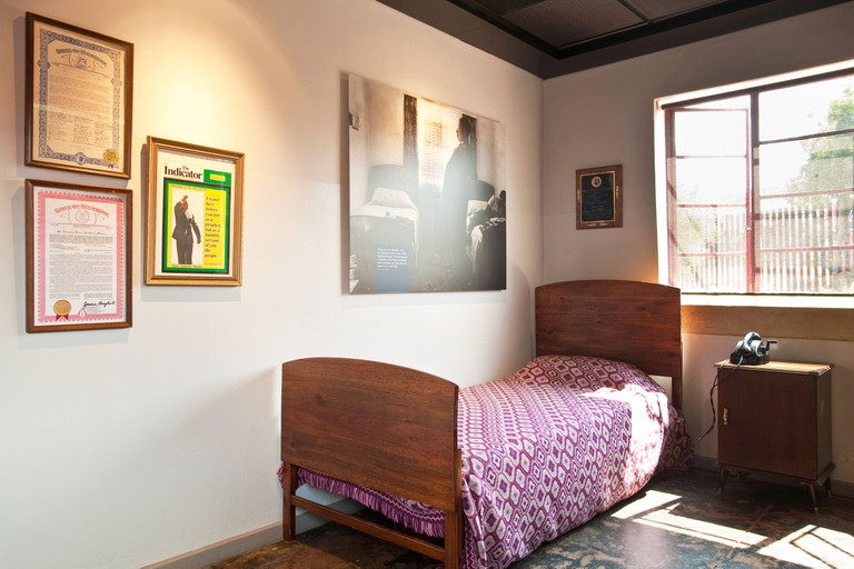 South Africa, Gauteng Province, Johannesburg, Mandela House Museum, house where lived for many years Nelson Mandela in the