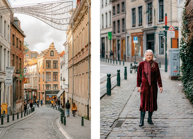 Left: Rue du Chène | Right: Resident of Brussels