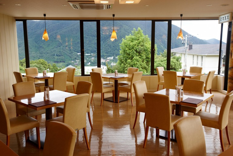 Restaurant Shun-Sai, near of Hakone Museum of Art
