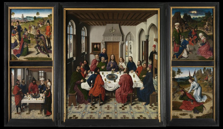Dirk Bouts,Altarpiece of the Holy Sacrament, part of the museum M Leuven collection, Image courtesy of Lukasweb.be