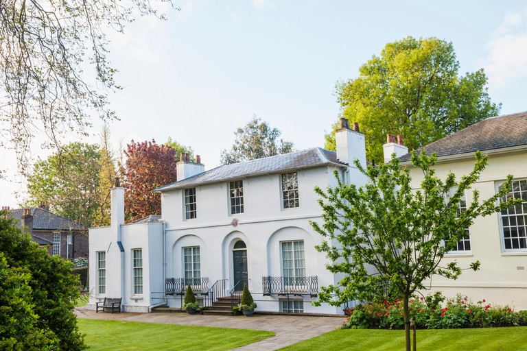 England, London, Hampstead, Keats House