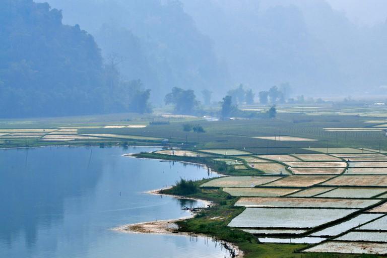 Vietnam Bac Kan Province Ba Be National Park Ba Be Lake