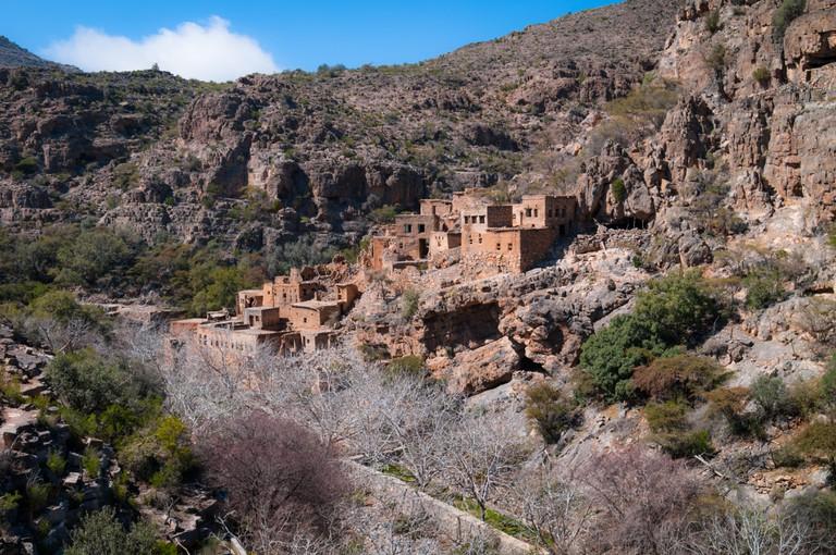 Abandoned village in Jabal Akhdar region