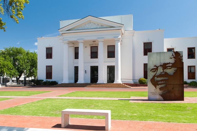 The town hall in Stellenbosch, Western Cape, South Africa.