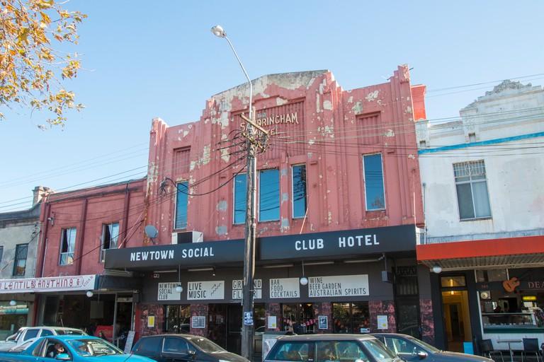 Newtown, an inner west suburb of Sydney