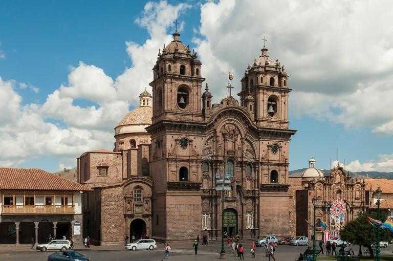 Iglesia de la Compania de Jesus, Cuzco, Peru