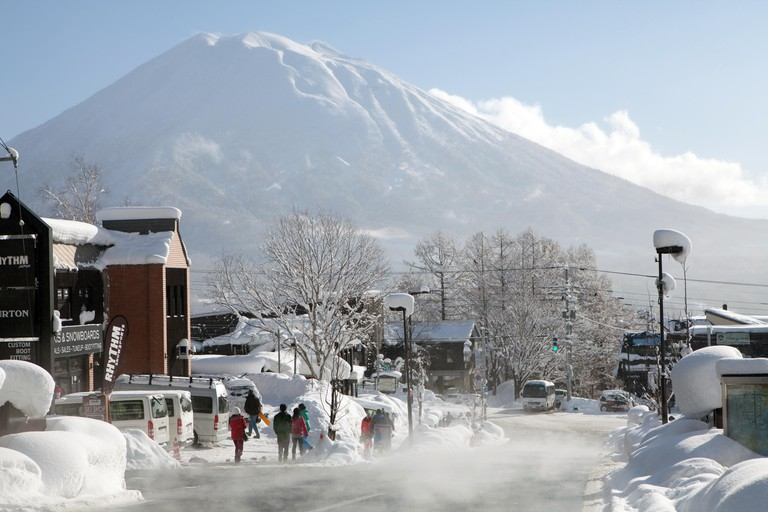 Hokkaido, Niseko, with Mount Yotei in the background