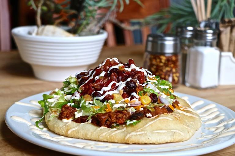 Feast - bison tipi taco