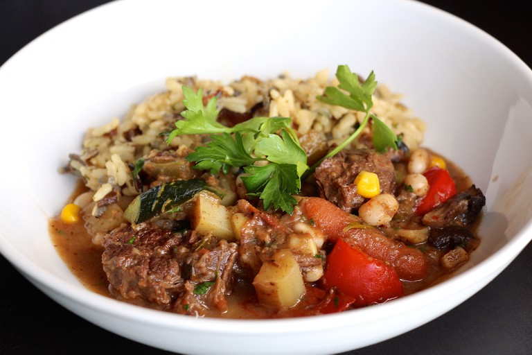 Feast - spring bison stew