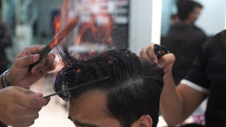 Flaming Haircut 2