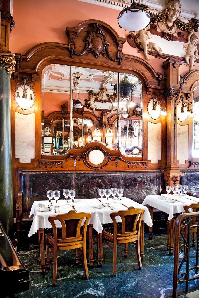 Interior of the Majestic Cafe, Porto, Portugal