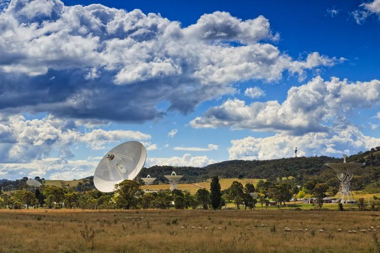 Canberra CSIRO communication station