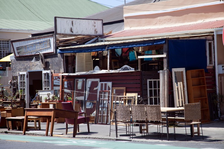 A secondhand furniture shop on Albert Rd, Woodstock