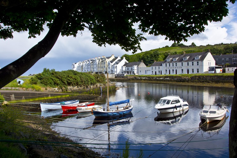 The harbour at Cushendun