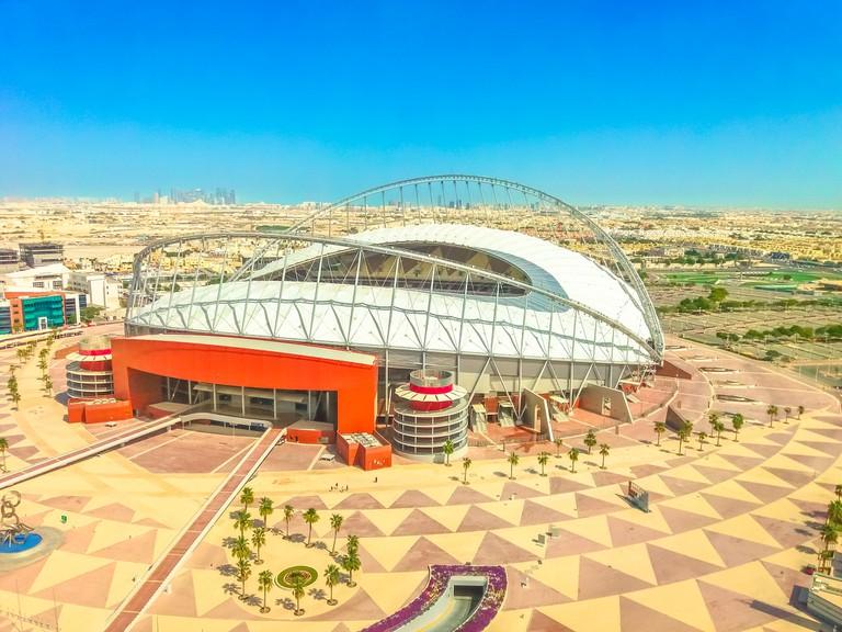 Khalifa Stadium aerial