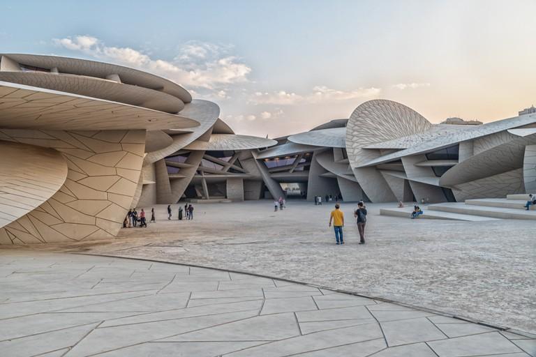National Museum of Qatar (Desert rose)