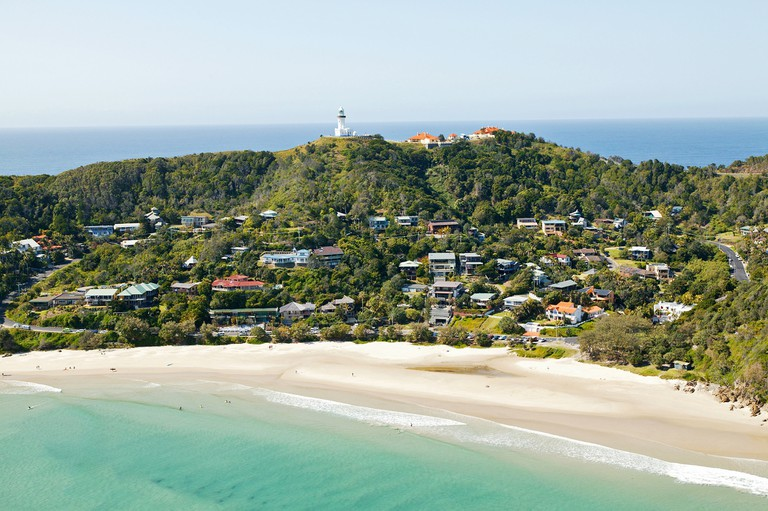 View of Byron Bay, NSW, Australia