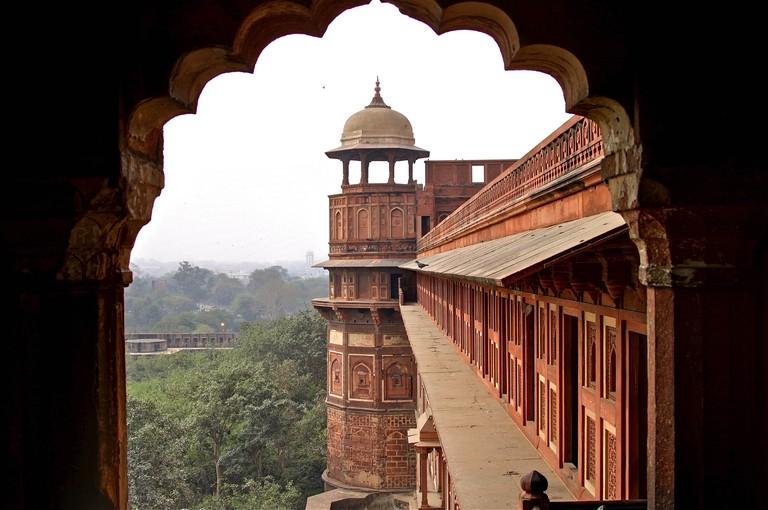 Architecture in Agra.