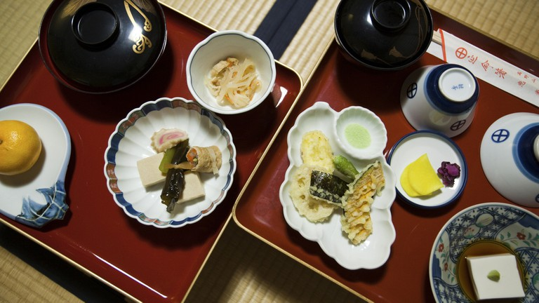 "Zen Temple food or ""Shojin Ryori"" is vegetarian cuisine at"