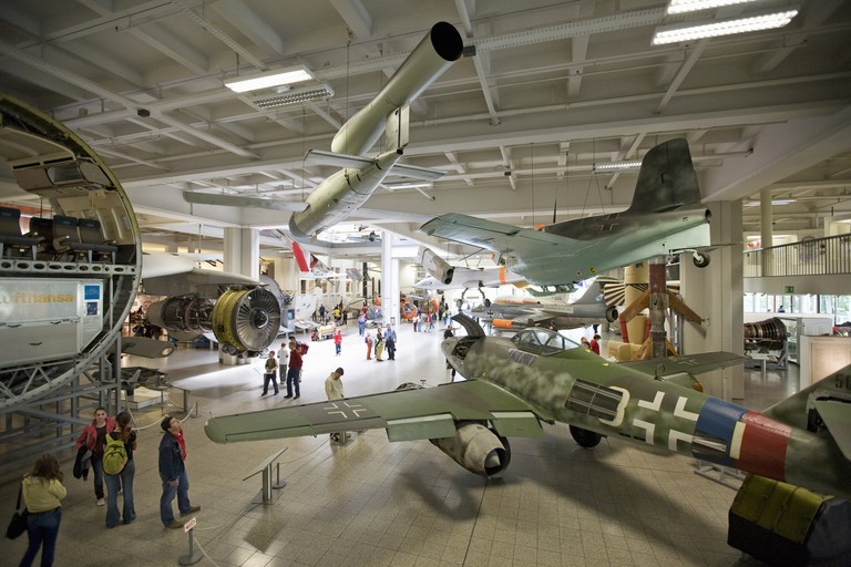 Germany, Munich, Deutsches Museum, Aircraft Display