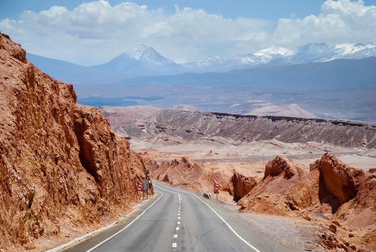 Cordillera Domeyko, Atacama Desert, Chile