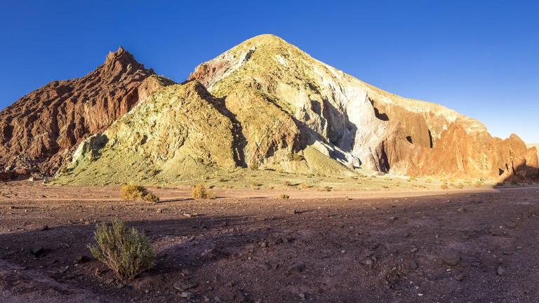 South America, Atacama Desert, Valle del Arcoiris
