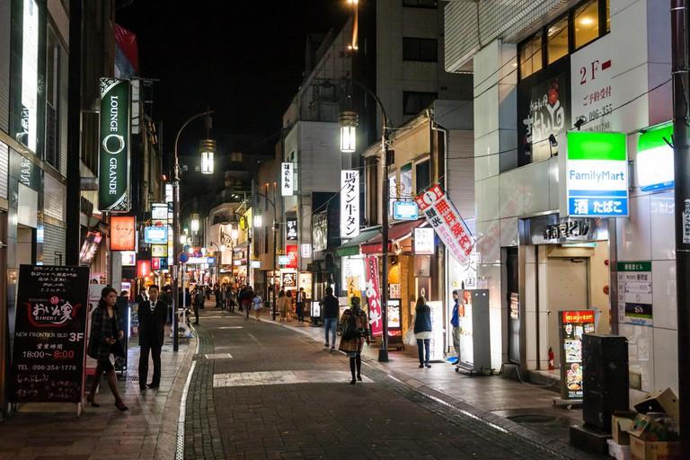 Shimotori Arcade Street, Japan.