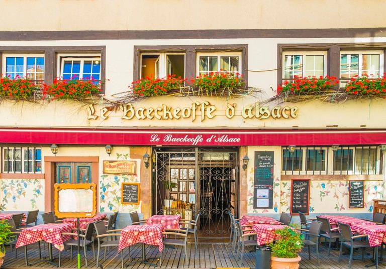 le baeckeoffe d´alsace, traditional alsatian restaurant