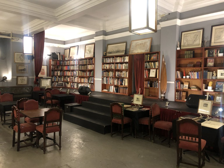Interior of James Findlay Collectible Books and Antique Maps