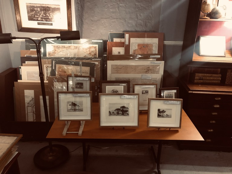 Maps and photographs at James Findlay Collectible Books and Antique Maps