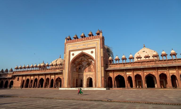 Jama Masjid, Agra, Uttar Pradesh, India.