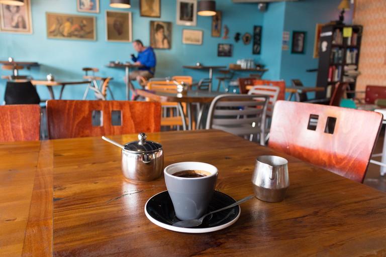 Coffee at Kush coffee shop