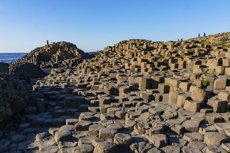 Giant's Causeway of County Antrim, Northern Ireland