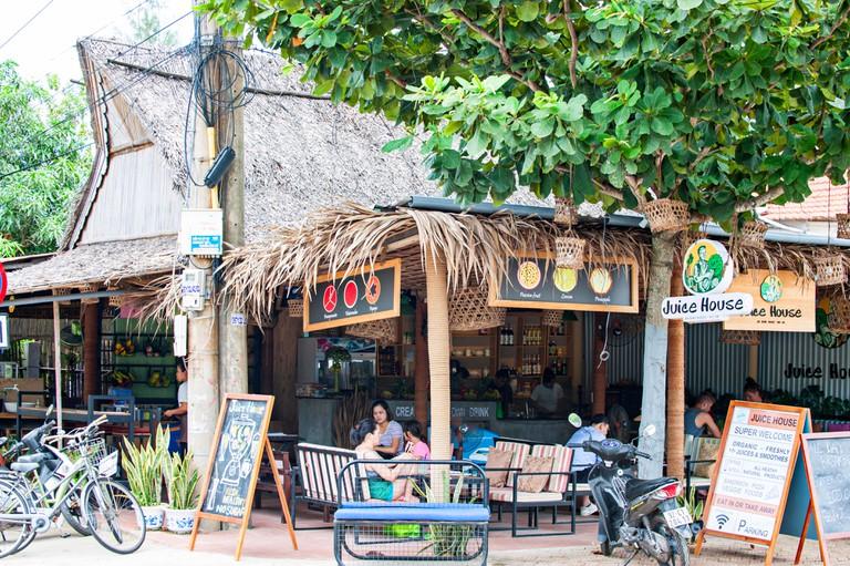 Cafes at An Bang Beach
