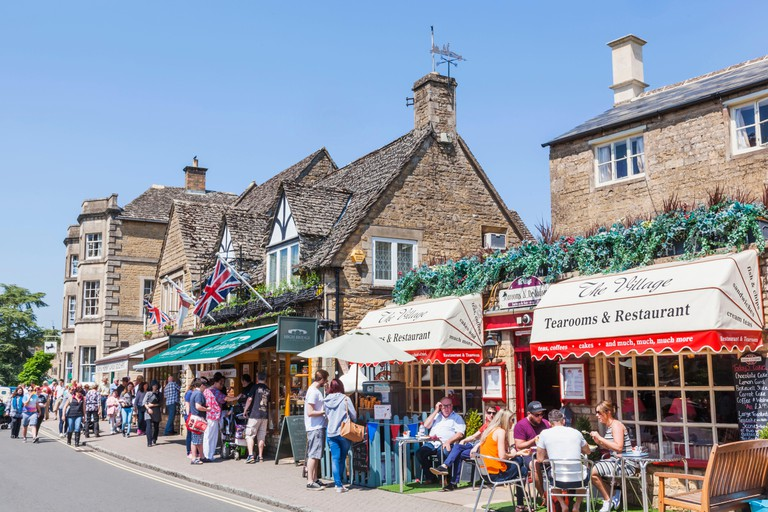 Bourton-on-the-water, Cotswolds, England.